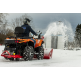 ATV Quadivator snow blower (B&S 19 HP)